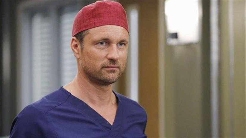 Nathan Riggs in una scena di Grey's Anatomy