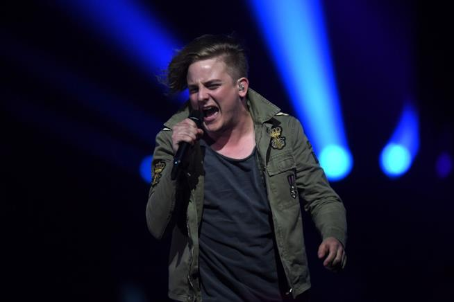 L'esibizione dei AWS all'Eurovision Song Contest 2018