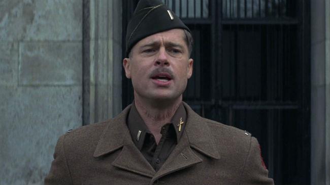 Brad Pitt nel film Bastardi senza gloria