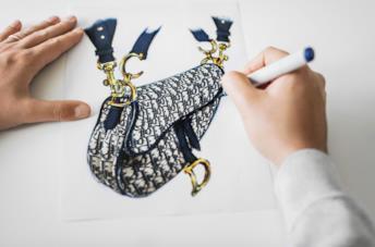 La borsa sella Dior