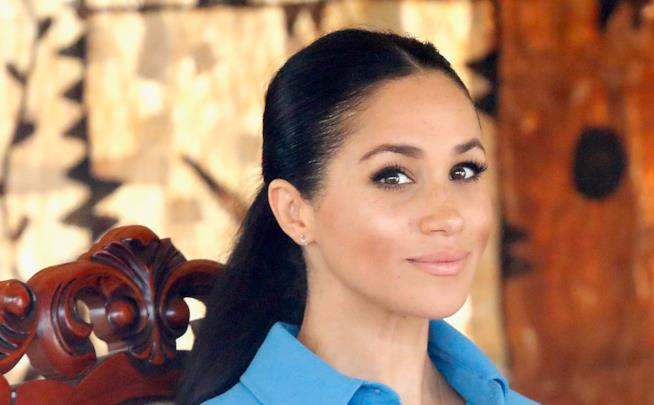 Meghan Markle in primo piano