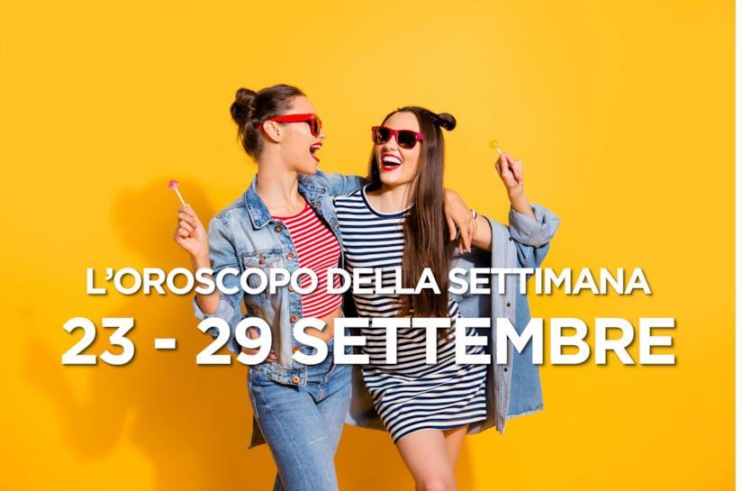 L'oroscopo della settimana, 23 - 29 Settembre 2019