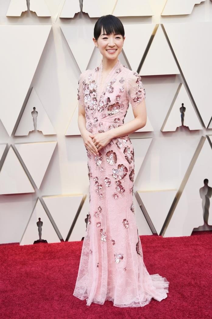 Marie Kondo sul red carpet degli Oscar 2019