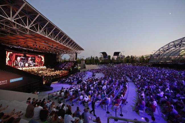 Open Air Theatre di Experience Milano, nell'ex Area EXPO