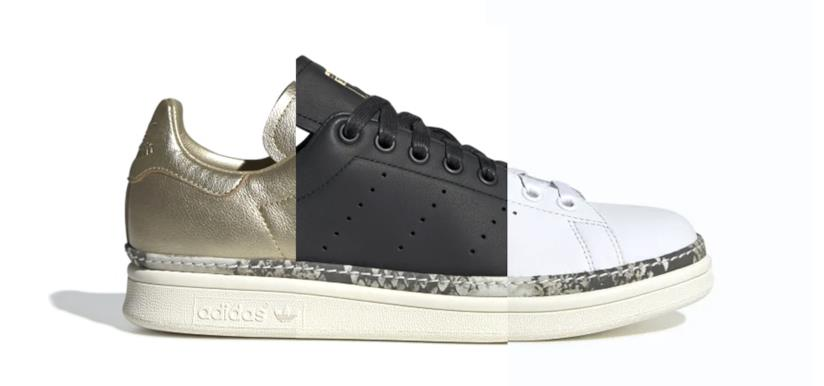 Le 3 varianti dell'Adidas Stan Smith New Bold