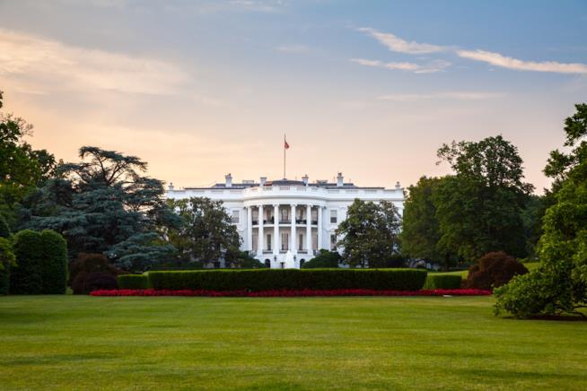 La residenza del presidente degli USA: la Casa Bianca