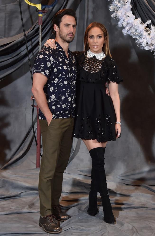 I protagonisti del film Ricomincio da Me Milo Ventimiglia e Jennifer Lopez