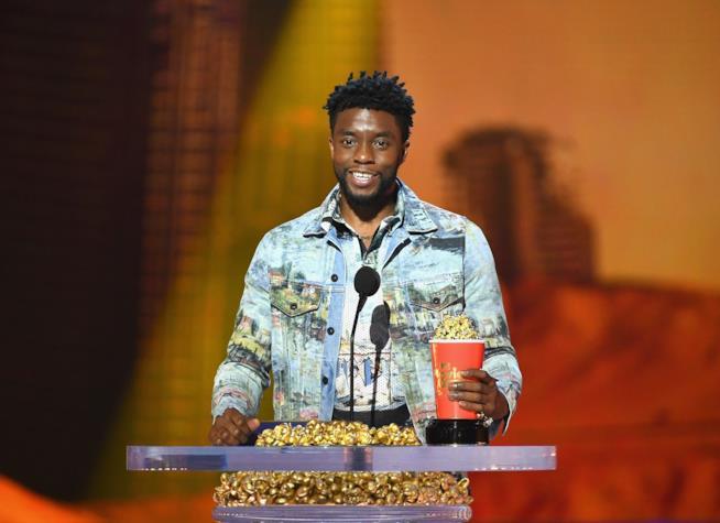 Chadwick Boseman premiato per Black Panther