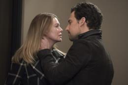Meredith e DeLuca vicini al bacio