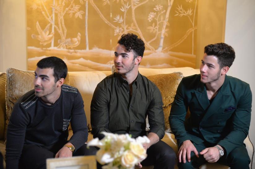 I Jonas Brothers a un evento