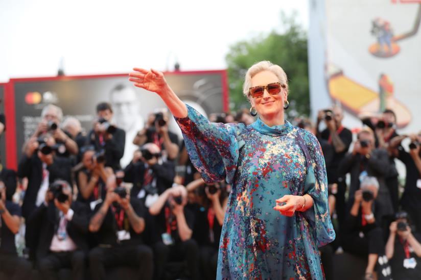 Meryl Streep red carpet Venezia 76