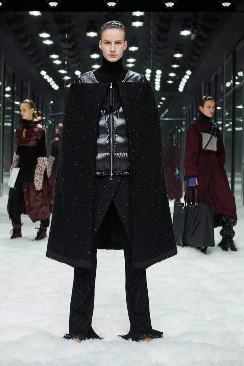 Sfilata MONCLER Collezione Donna Autunno Inverno 19/20 Milano - 48