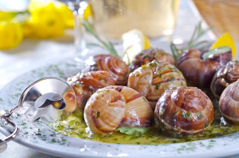 Un piatto di lumache