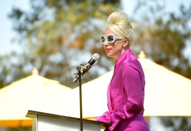 Lady Gaga tiene un discorso