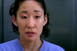 Sandra Oh nel ruolo di Cristina Yang in un episodio di Grey's Anatomy