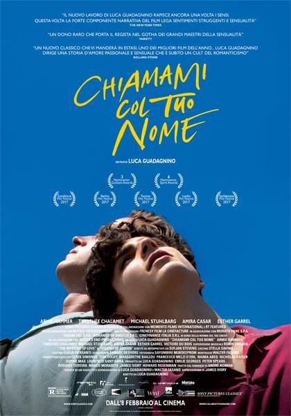 Locandina ufficiale del film che ritrae i due ragazzi protagonisti