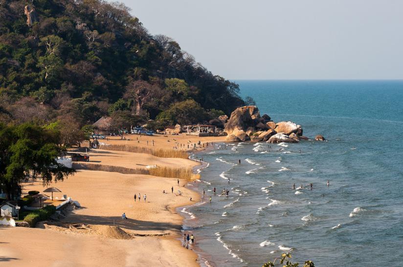 Lago Malawi in Malawi per un viaggio in compagnia