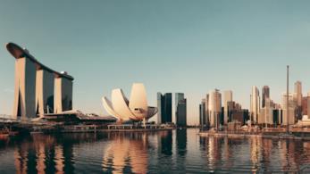Panoramica di Marina Bay