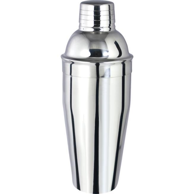 Uno shaker satinato per i mixare cocktail