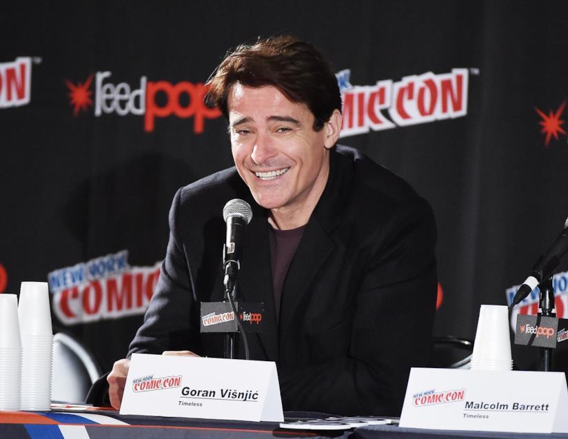 Goran Visnjic al Comic Con di New York