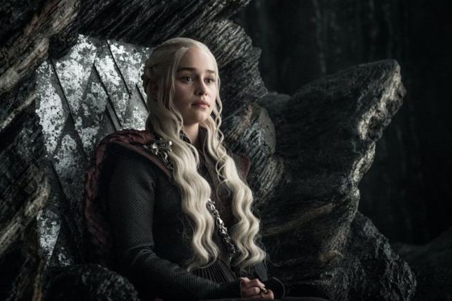 Emilia Clarke in Game of Thrones