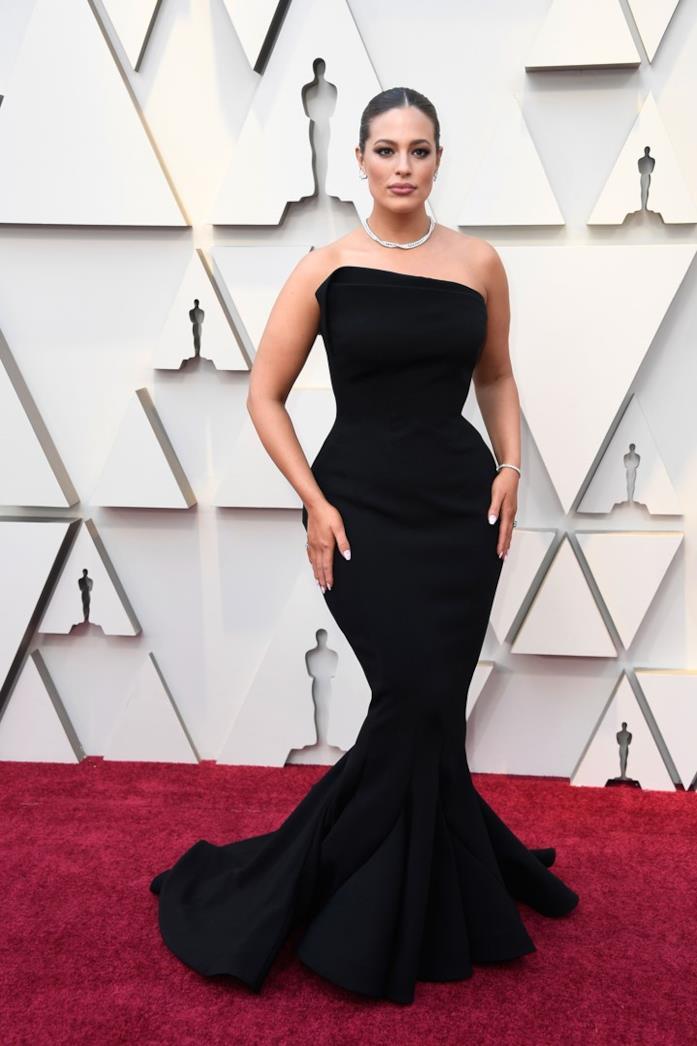 Ashley Graham sul red carpet degli Oscar