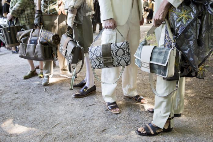Le borse della collezione Menswear SS 2020 di Fendi