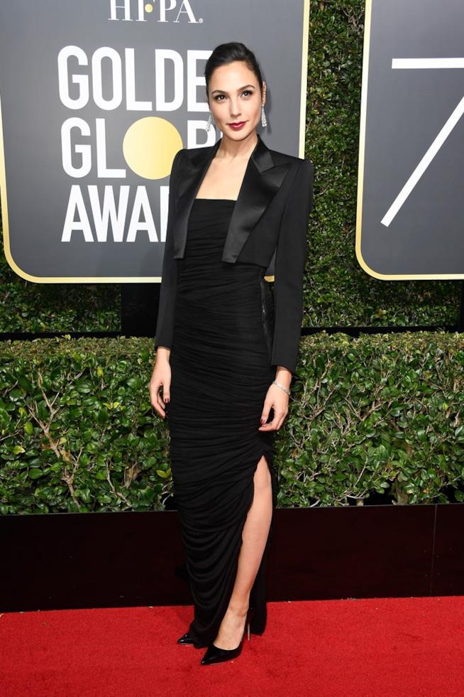 L'attrice ai Golden Globes 2018