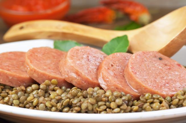 La ricetta del cotechino con lenticchie