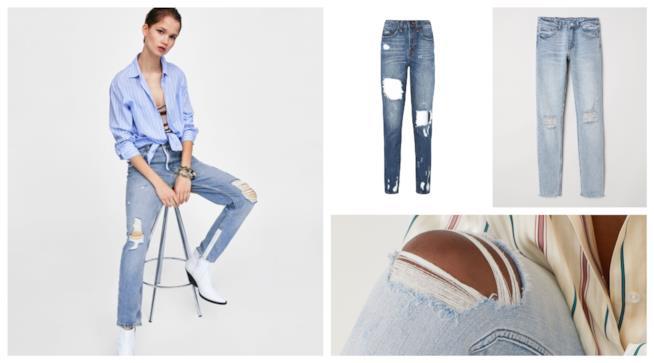 Sdruciti, i jeans di moda degli anni '80 come Madonna