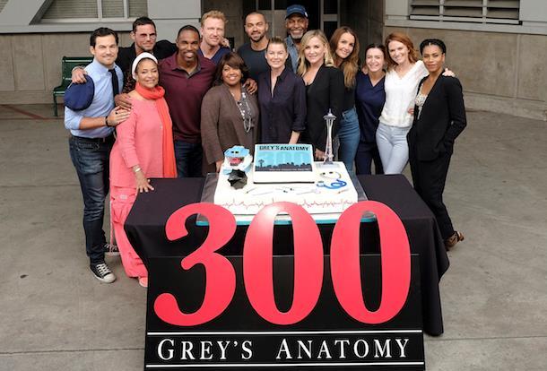 Il cast di Grey's Anatomy 14