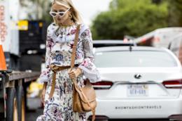 Come indossare gli abiti a fiori quest'estate