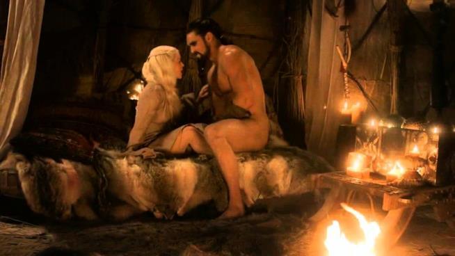 Daenerys Targaryen e Dothraki Khal Drogo