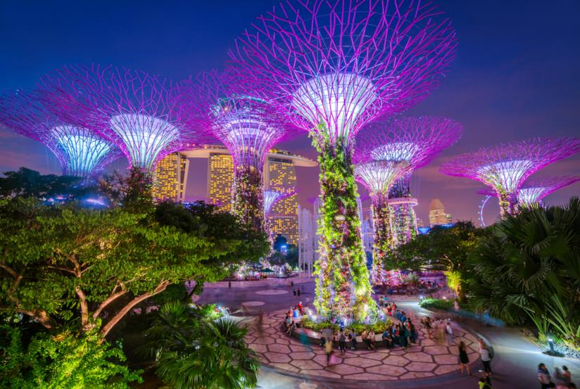 Febbraio a Singapore