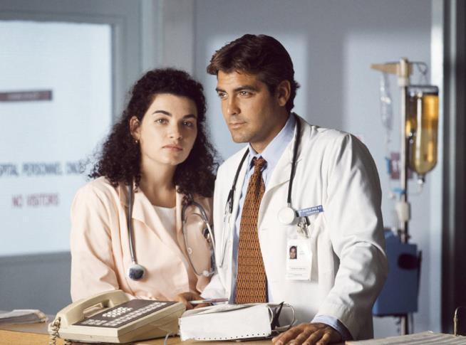 Carol Hathaway e Doug Ross, due dei protagonisti di E.R. Medici in prima linea
