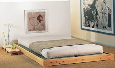 Letto in legno Modello Nokido