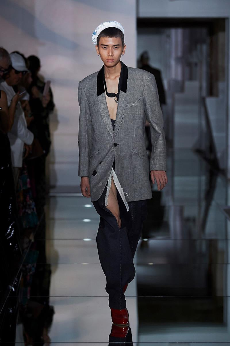 Sfilata MAISON MARGIELA Collezione Alta moda Autunno Inverno 19/20 Parigi - Margiela PO HC RF19 0006