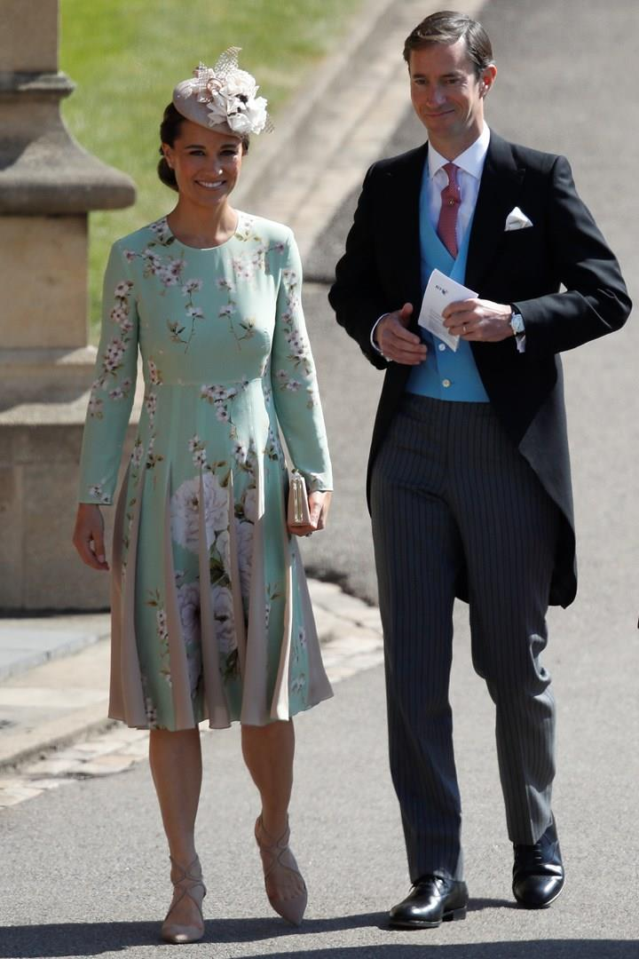 Pippa Middleton e il marito al Royal Wedding
