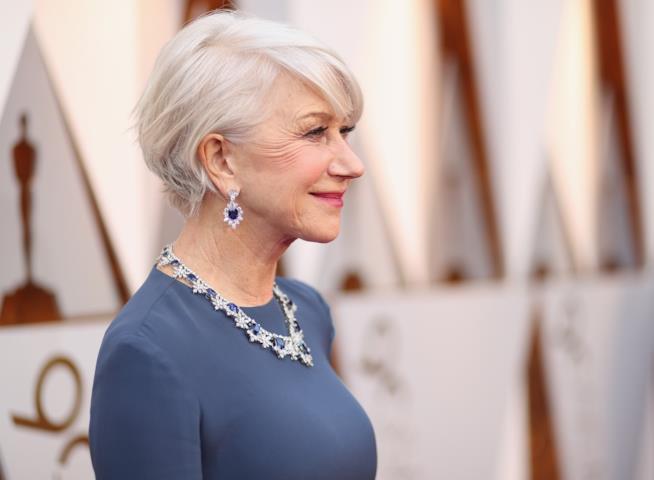 Helen Mirren di profilo