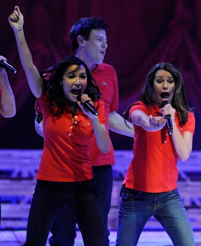 Rachel Berry e Santana Lopez di Glee
