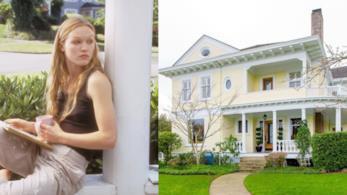 Julia Stiles e la casa del film 10 cose che odio di te