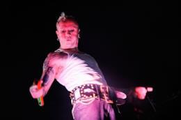 Il frontman dei Prodigy Keith Flint