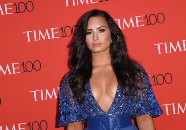 Il décolleté di Demi Lovato