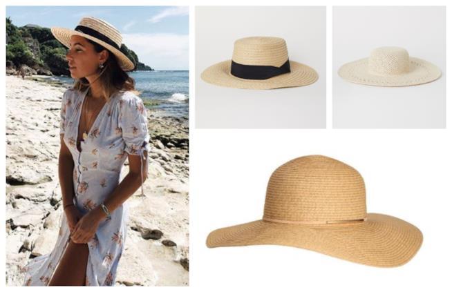 I cappelli di paglia, tendenza estate 2018