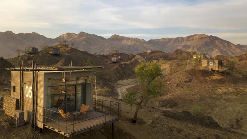 Uno scorcio di Hatta, desert destination vicino a Dubai