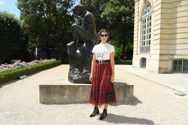 Mandy Moore alla sfilata Dior
