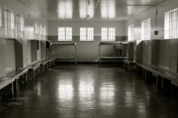 L'interno di una prigione in Sud Africa