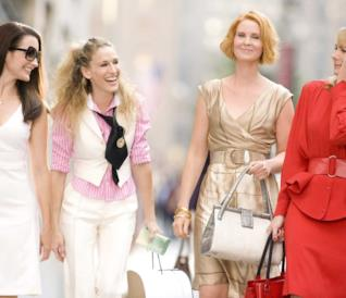 Le protagoniste di Sex and The City