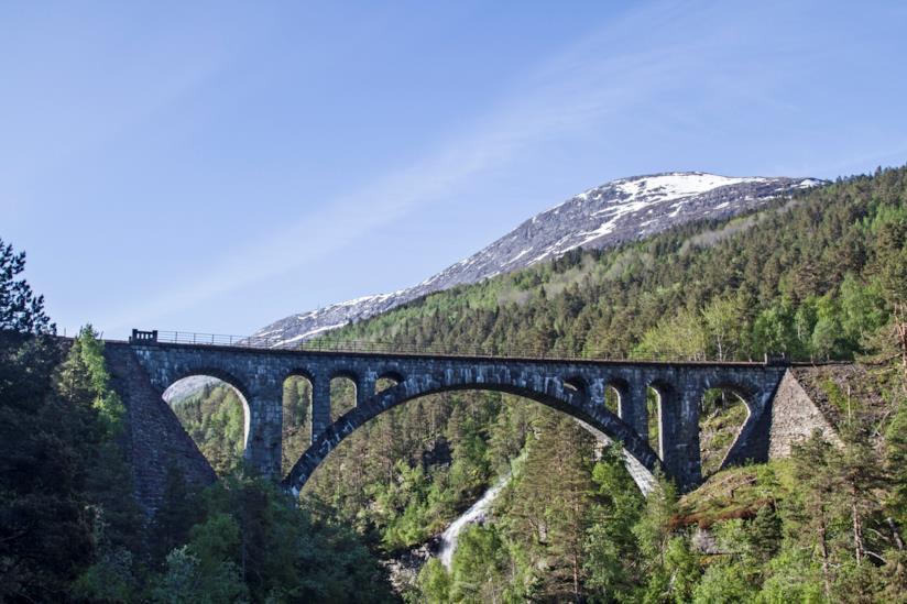 La ferrovia di Rauma e il famose ponte di Kylling