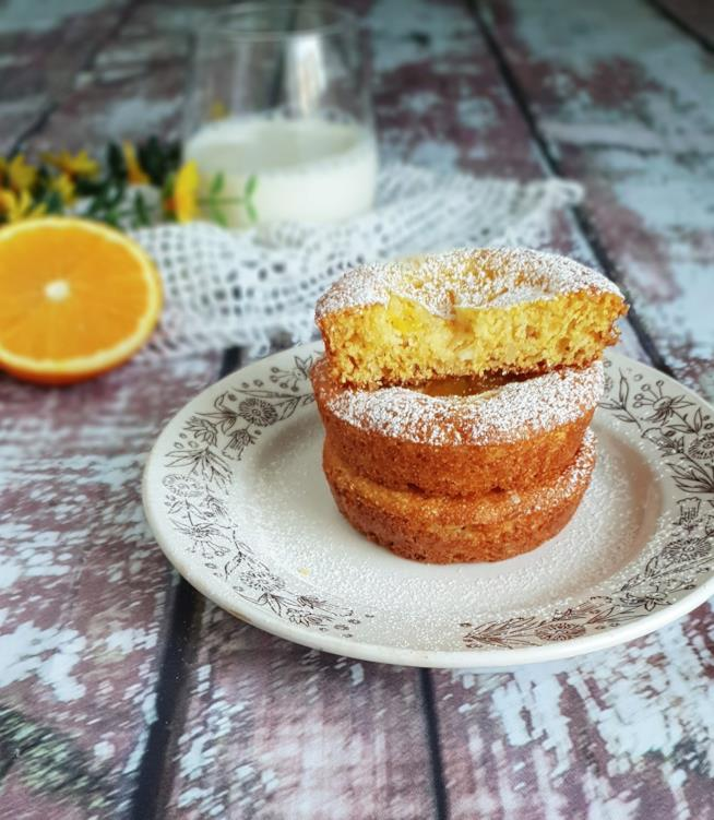 Tortine con arancia